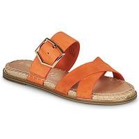 Cipők Női Papucsok Tamaris LIDYA Narancssárga