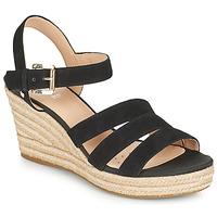 Cipők Női Szandálok / Saruk Geox D SOLEIL C Fekete