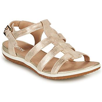 Cipők Női Szandálok / Saruk Geox D SANDAL VEGA A Arany