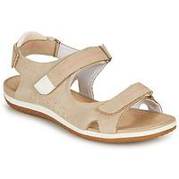 Cipők Női Szandálok / Saruk Geox D SANDAL VEGA A Bézs