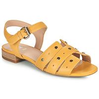 Cipők Női Szandálok / Saruk Geox D WISTREY SANDALO C Citromsárga