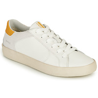 Cipők Férfi Rövid szárú edzőcipők Geox U WARLEY A Fehér