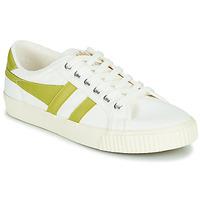 Cipők Női Rövid szárú edzőcipők Gola TENNIS MARK COX Fehér / Citromsárga