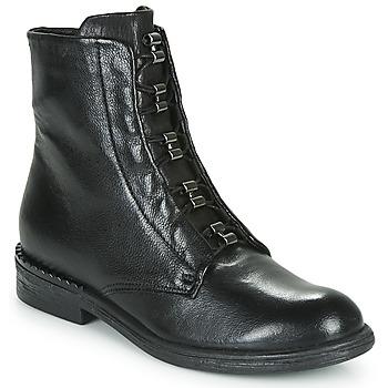 Cipők Női Csizmák Mjus PALLY Fekete