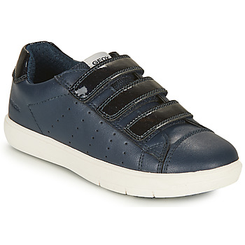 Cipők Lány Rövid szárú edzőcipők Geox SILENEX GIRL Tengerész