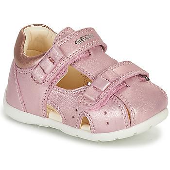 Cipők Lány Szandálok / Saruk Geox KAYTAN Rózsaszín