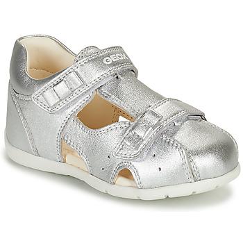 Cipők Lány Szandálok / Saruk Geox KAYTAN Ezüst