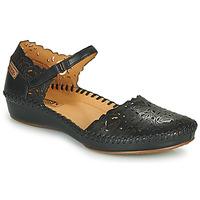 Cipők Női Balerina cipők  Pikolinos P. VALLARTA 655 Fekete
