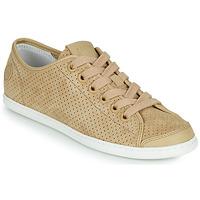 Cipők Női Rövid szárú edzőcipők Camper UNO Bézs