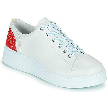 Cipők Női Rövid szárú edzőcipők Camper RUNNER UP Fehér / Piros