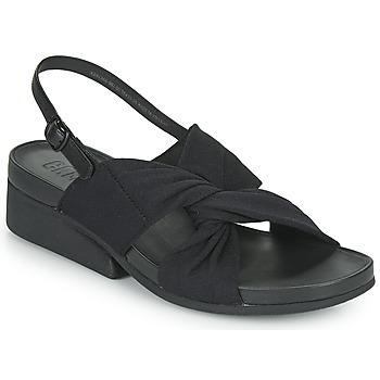 Cipők Női Szandálok / Saruk Camper MINI KAAH Fekete