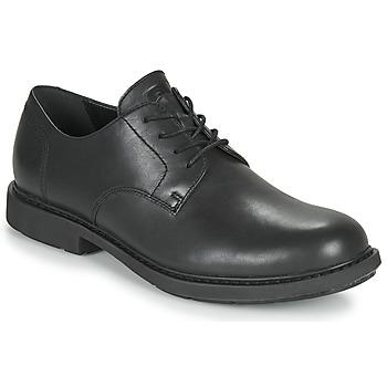 Cipők Férfi Oxford cipők Camper NEUMAN Fekete