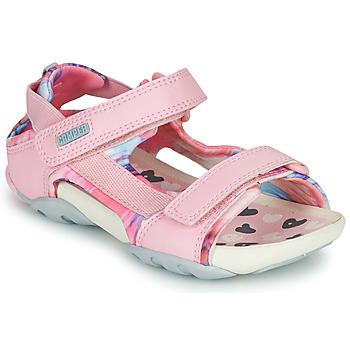 Cipők Lány Szandálok / Saruk Camper OUS Rózsaszín