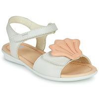 Cipők Lány Szandálok / Saruk Camper TWINS Rózsaszín / Fehér
