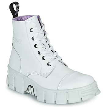 Cipők Csizmák New Rock M-WALL005-C1 Fehér
