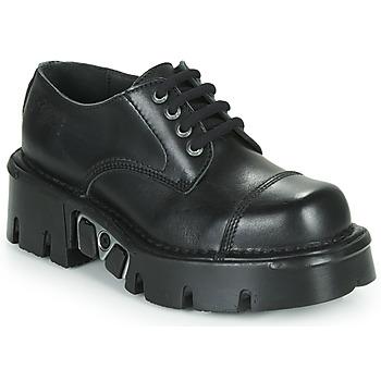 Cipők Oxford cipők New Rock M-NEWMILI03-C3 Fekete