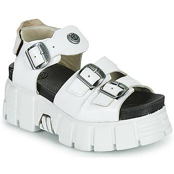 Cipők Női Szandálok / Saruk New Rock M-BIOS101-C3 Fehér