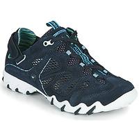 Cipők Női Rövid szárú edzőcipők Allrounder by Mephisto NIWA Kék