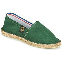 Cipők Gyékény talpú cipők Art of Soule LINEN Zöld