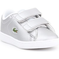 Cipők Gyerek Rövid szárú edzőcipők Lacoste Carnaby EVO 317 6 SPI 7-34SPI0006334 srebrny