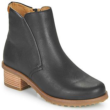 Cipők Női Bokacsizmák El Naturalista SOFT Fekete