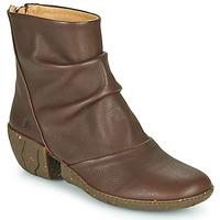 Cipők Női Bokacsizmák El Naturalista SOFT Barna