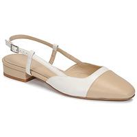 Cipők Női Szandálok / Saruk Jonak DHAPOU Bézs / Fehér