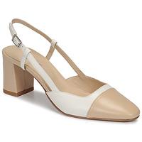 Cipők Női Félcipők Jonak DHAPOP Bézs / Fehér