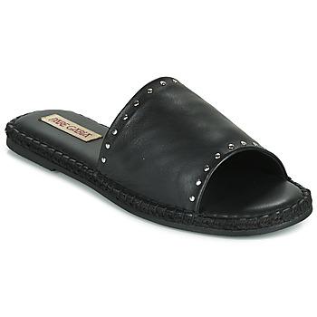 Cipők Női Papucsok Pare Gabia ROPLINE Fekete