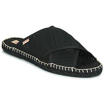 Cipők Női Papucsok Pare Gabia VP BANDEAU Fekete