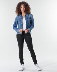 Ruhák Női Skinny farmerek G-Star Raw Midge Zip Mid Skinny Wmn Pitch / Fekete