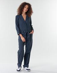 Ruhák Női Overálok G-Star Raw Workwear pj jumpsuit 34 slv wmn Sötétkék / Kék