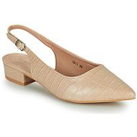 Cipők Női Félcipők Moony Mood OGORGEOUS Bőrszínű