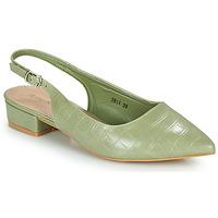 Cipők Női Félcipők Moony Mood OGORGEOUS Zöld / Mandula
