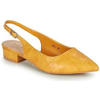Cipők Női Félcipők Moony Mood OGORGEOUS Citromsárga