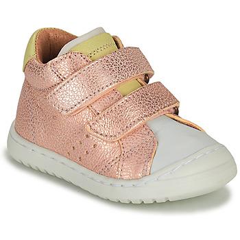 Cipők Lány Rövid szárú edzőcipők Bisgaard TATE Rózsaszín / Arany