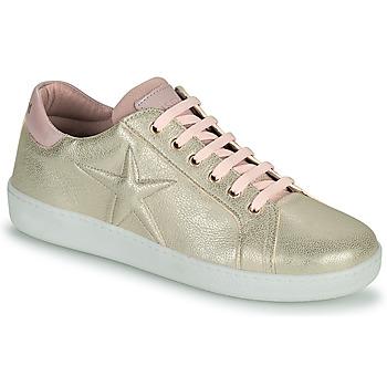 Cipők Lány Rövid szárú edzőcipők Bisgaard TILDE Arany