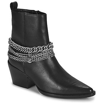 Cipők Női Városi csizmák Bronx JUKESON Fekete