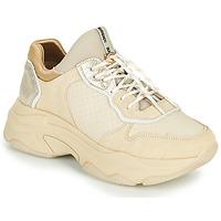 Cipők Női Rövid szárú edzőcipők Bronx BAISLEY Bézs