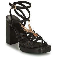 Cipők Női Szandálok / Saruk Bronx NEW RENEE Fekete