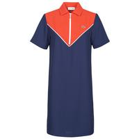 Ruhák Női Rövid ruhák Lacoste FRITTI Piros / Kék