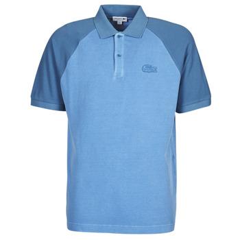 Ruhák Férfi Rövid ujjú galléros pólók Lacoste POLO PH9745 Kék