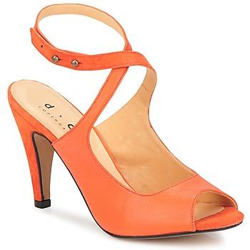 Cipők Női Szandálok / Saruk D.Co Copenhagen MARISSA Narancssárga