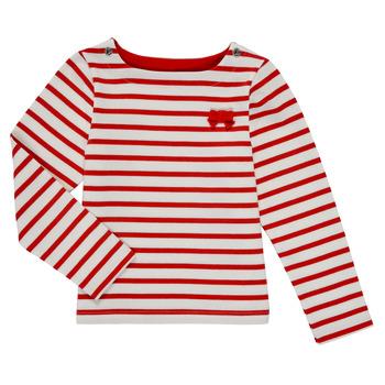 Ruhák Lány Hosszú ujjú pólók Petit Bateau MAHALIA Sokszínű