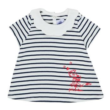 Ruhák Lány Rövid ujjú pólók Petit Bateau MELIANE Sokszínű