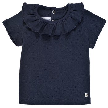Ruhák Lány Rövid ujjú pólók Petit Bateau MELISSA Tengerész