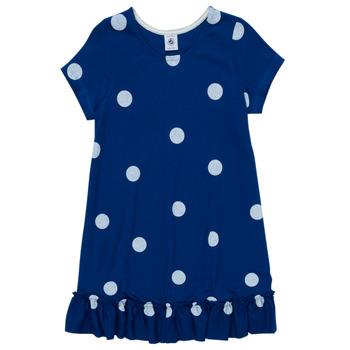 Ruhák Lány Rövid ruhák Petit Bateau MALICETTE Tengerész