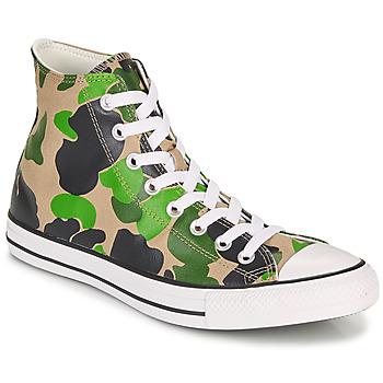 Cipők Férfi Magas szárú edzőcipők Converse CHUCK TAYLOR ALL STAR ARCHIVE PRINT  HI Álcáz