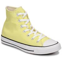 Cipők Női Magas szárú edzőcipők Converse CHUCK TAYLOR ALL STAR SEASONAL COLOR HI Citromsárga