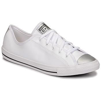 Cipők Női Rövid szárú edzőcipők Converse CHUCK TAYLOR ALL STAR DAINTY ANODIZED METALS OX Fehér